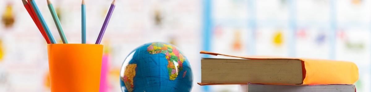 pencils-globe-books